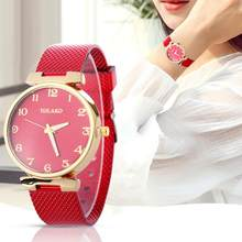 Splendid Women Watch Electronic Leisure Time Women's Fashion Quartz Watch Women Strap Solid Table Relogio Feminino Montre Homme(China)