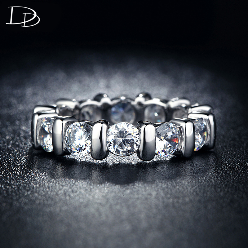 classic jewelry font b rings b font for women white gold plated engagement party font b