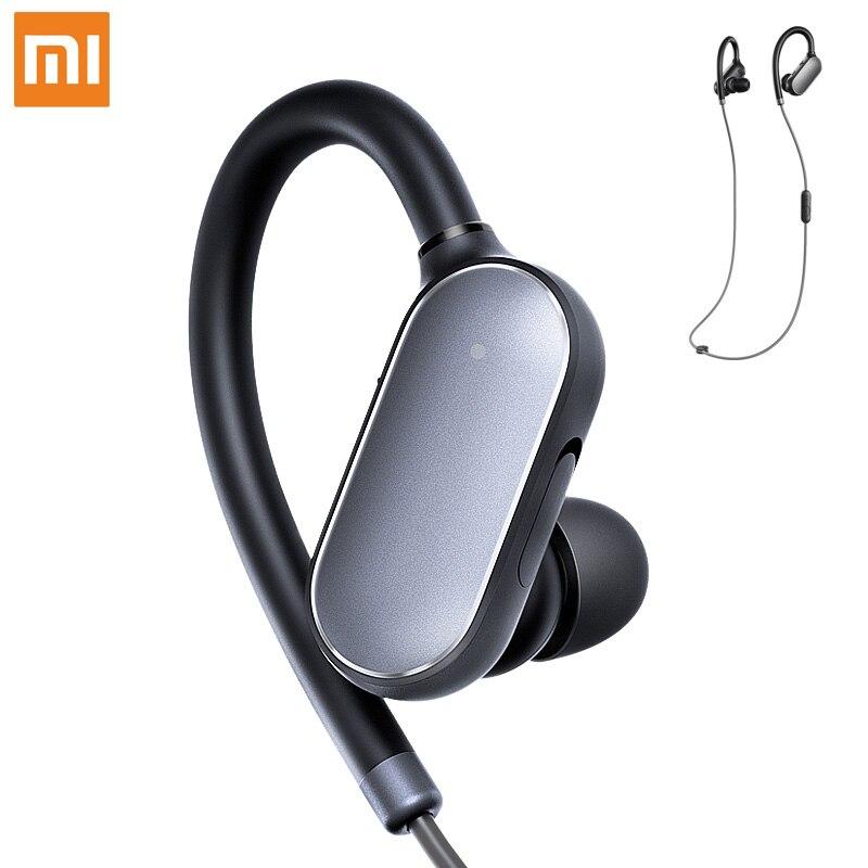 D'origine Xiaomi Mi Sport Bluetooth Casque Bluetooth 4.1 Musique Écouteurs Mic IPX4 Étanche Sans Fil Écouteurs pour Xiaomi Mi6