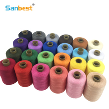 Sanbest Multicolor Polyester Sewing Thread 1000 Yards 24Pcs Set Strong Durable Hand Machines Craft Patch Thread Supplies TH00003