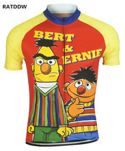 Bert and Ernie Men's Cycling Jersey Short Sleeve Jersey Summer Cycling Clothing Clothes Bike Wear Cycling Clothes China