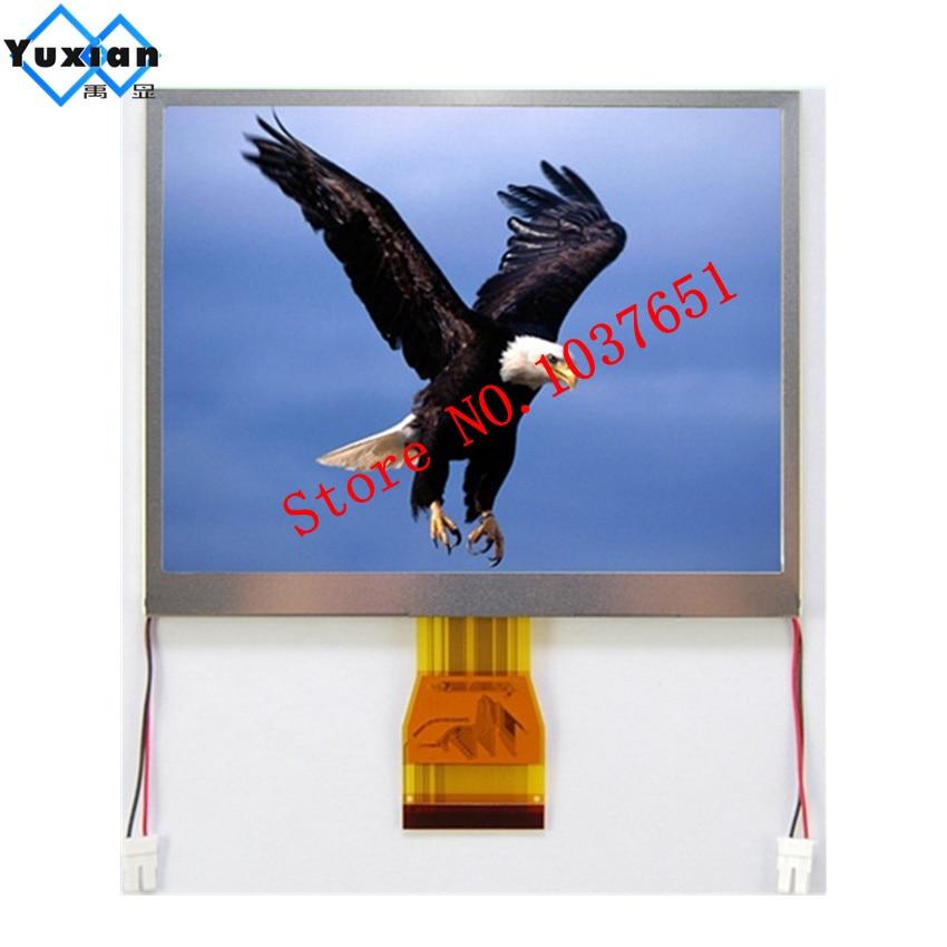 5.7 pouces TFT lcd panneau d'affichage 320RGB * 240 54pin 0.5 pitch TTL 24bit RGB LCD affichage usine application industrielle