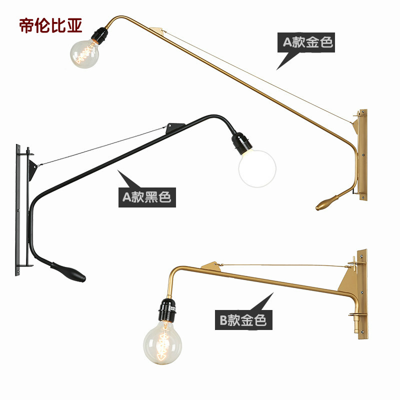 Modern LED Wall Lamps Simple Bedside Wall Lamp With Dimmer Switch Chrome Flexibility Wall Lights Reading Light Indoor Lighting simple modern led wall lamp reading switch adjust wall light fixtures home fabric shade bedside wall sconce indoor lighting