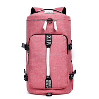 travel bag men women waterproof canvas big luggage duffle backpack blue feather shoulder High Capacity Multifunction Rusksack