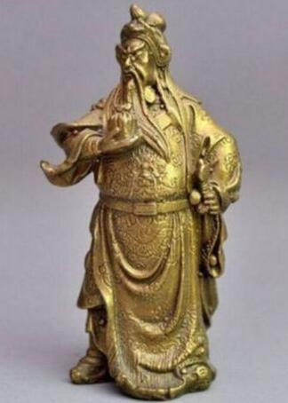 DYZ 325+++++++ Rare Chinese Brass Copper Dragon Warrior Guan Gong Statue   In Statues U0026 Sculptures From Home U0026 Garden On Aliexpress.com | Alibaba  Group