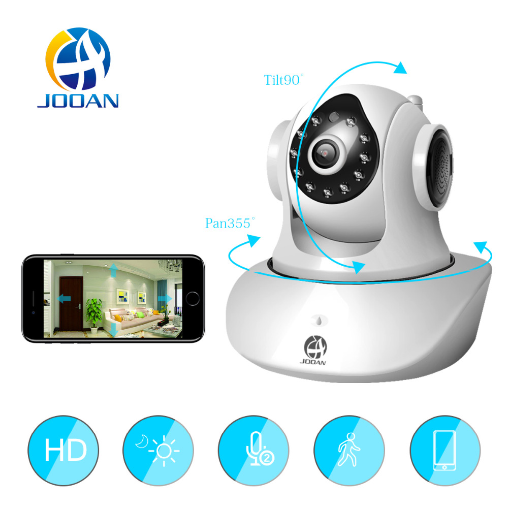 JOOAN C6 Home Security IP Camera Wireless Wi Fi IR Cut Night Vision Video Surveillance Network