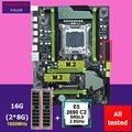 Rabatt motherboard bündel HUANANZHI X79 Pro motherboard mit dual M.2 slot CPU Intel Xeon E5 2690 C2 2,9 GHz speicher 16G (2*8G)