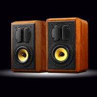 HiVi Swans hifi Stereo M1 Classic Passive Monitors speaker 2 way 4th order vented 5bass midrange Isodynamic ribbon tweeter