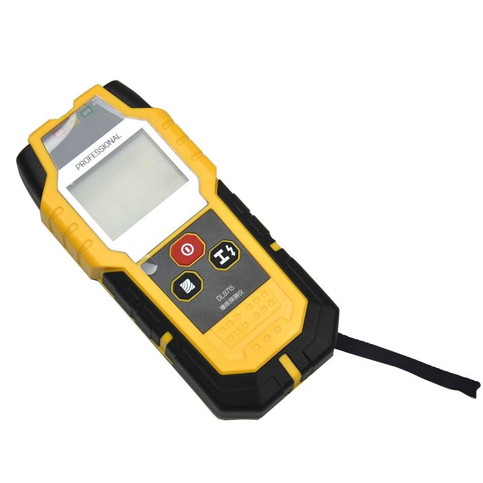 Nowy detektor przewodów w ścianie woda instalacja elektryczna metalowy kabel z drewna wzmocniony wielofunkcyjny detektor przewodów w ścianie skaner Tracker