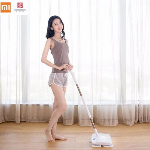 3 year warranty Xiaomi SWDK Wireless Handheld Electric Mop Wiper Floor Washers With Light and Mops