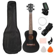 Zebra 23″ Guitar Combo 4 Strings Bass Concert Guitarra Guitar Kits Rosewood Fretboard Ukulele Musical Stringed Instrument Set