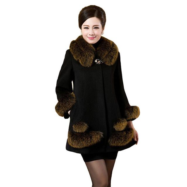 Women Winter Woolen Jacket