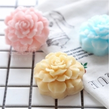 Silicone Soap Mould 3D Decoration Carnation flower soap mold DIY Articraft handmade oil silicone aroma stone