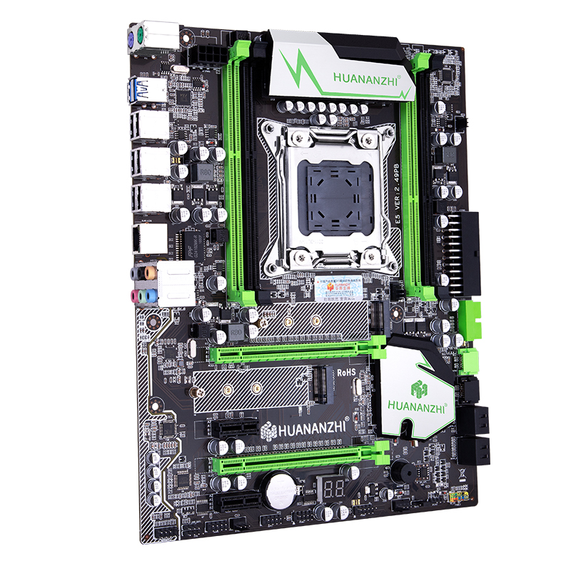 Image 4 - HUANANZHI X79 motherboard LGA2011 ATX USB3.0 SATA3 PCI E NVME M.2 SSD support REG ECC memory and Xeon E5 processor-in Motherboards from Computer & Office