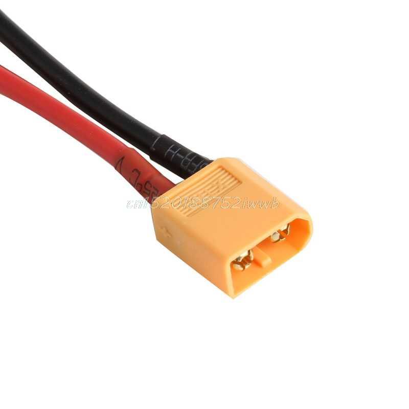 1 par de conector macho hembra de batería XT60 con cable de silicona 14 AWG # T026 #