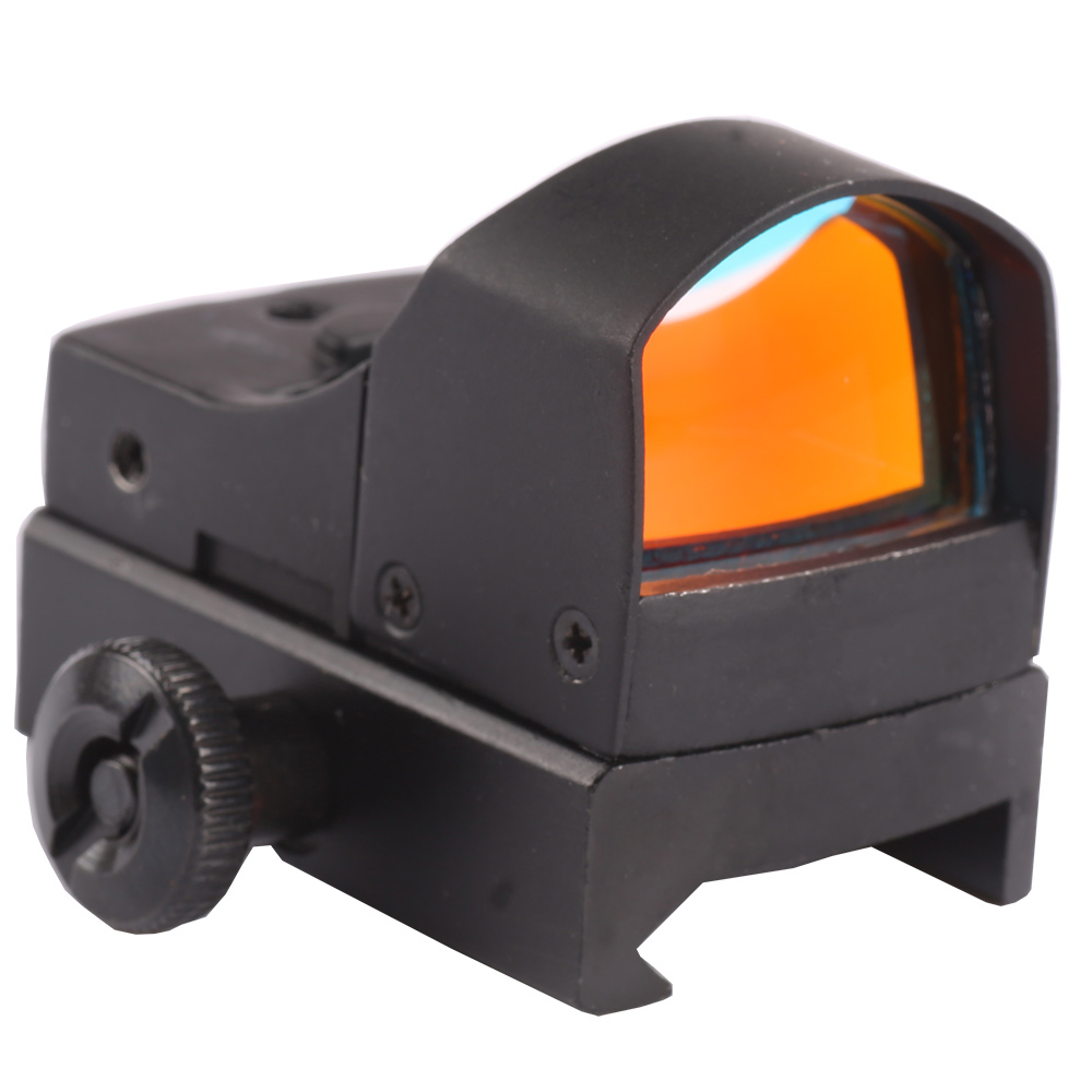 Hunting Micro Red Dot Scope Sight For Weaver Picatinny Rail 20mm W / Sunshade 25mm Lens Mira Punto Rojo CazaHunting Micro Red Dot Scope Sight For Weaver Picatinny Rail 20mm W / Sunshade 25mm Lens Mira Punto Rojo Caza