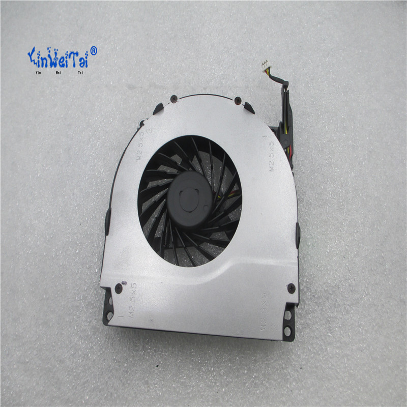 100% Original New Laptop CPU Cooler Fan For Dell Inspiron 1720 1721 Vostro 1700 FORCECON DFS651605MC0T F630 5V 0.5A DQ5D599H002 laptop cpu cooler fan for inspiron dell 17r 5720 7720 3760 5720 turbo ins17td 2728 fan