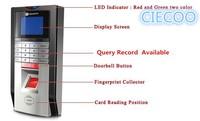 Отпечатков пальцев часы Регистраторы посещаемости цифровой электронный читатель машина USB офис времени Регистраторы Поддержка ID