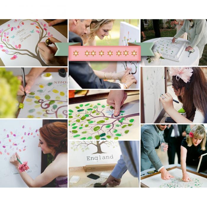 24 цвета многоцветные штемпельные подушечки дети изображение отпечатка пальца палец штамп для росписи колодки пигмент дети ремесло DIY игрушки GQ999