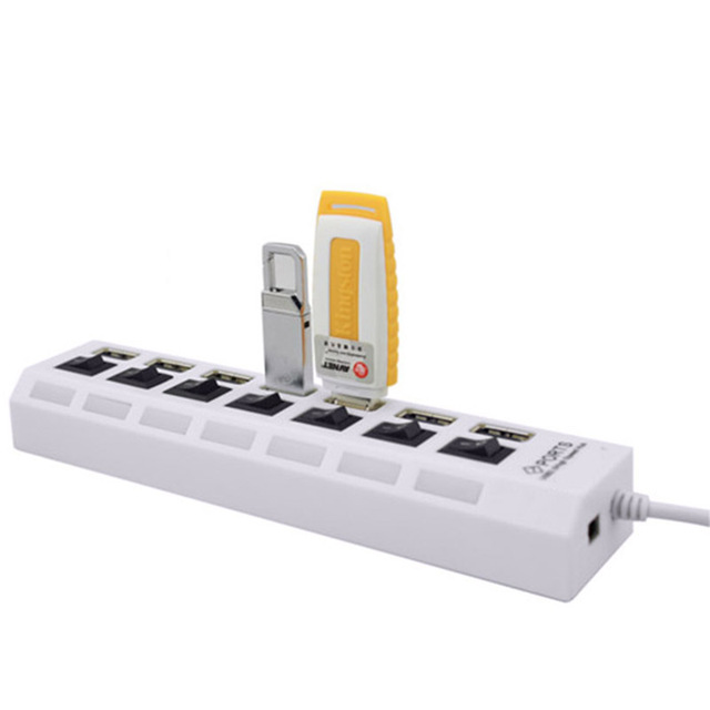 Multi 7 Ports High Speed USB Hub