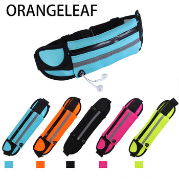 цена на unisex waist pack men waterproof fanny pack women belt bum bag waist bag male phone wallet Pouch Bags Patchwork black