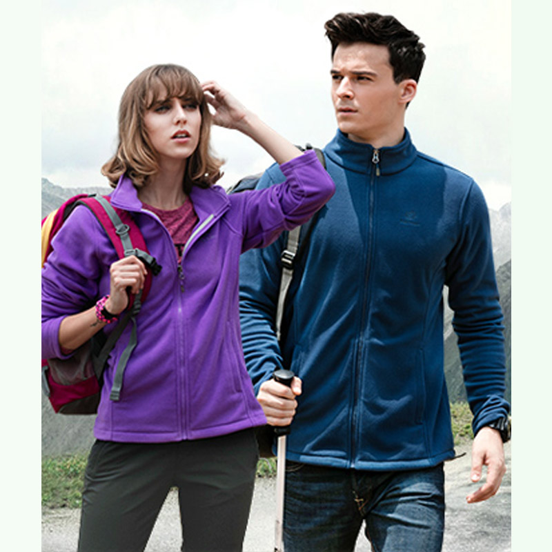 Sports & Entertainment Friendly Have Logo Brand Outdoor Fleece Jacket Women Men Thermal Windproof Warm Zipper Jackets Climbing Hiking Walking Winter Coat S-xxxl
