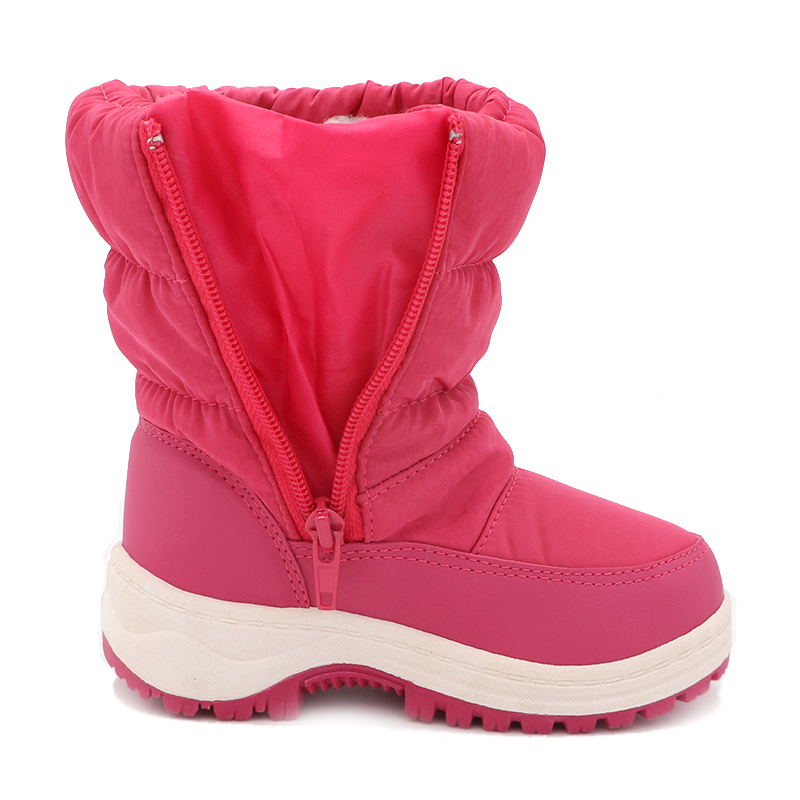 Image 3 - Cute Eagle Winter Girl's Nonslip Snow Boots Kids Mountaineering Skiing Warm Snowshoe School Outdoor Activities Eu Size 22 33-in Boots from Mother & Kids