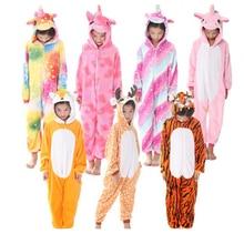 Pajamas Unicorn Kids Animal Children Pajamas for Boys Girls Baby