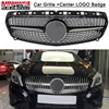 Car Auto Diamond Racing Grill Inserts Grille For Mercedes Benz W176 A CLASS A180 A200 A260