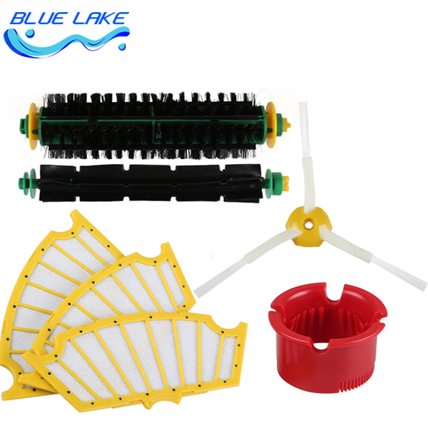Original OEM,cleaning sweeping robot side brush/Filter,500 Series Replenishment Kit/sets ,vacuum cleaning robots parts original oem cleaning robot automatic sweeping 2 sidebrush rotating soft brush 400series vacuum cleaning robot parts accessories