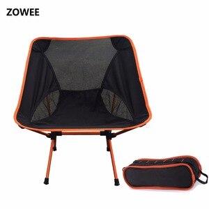Image 1 - Chaise de Camping de plage extérieure moderne pour pique nique chaises de pêche chaises pliées pour jardin, Camping, plage, voyage, chaises de bureau