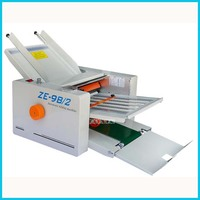 ZE 9B / 2 Folding Paper Automatic Paper Max 210x400mm, High Speed, 2 Folding Trays, Large Workload 220V/50 Hz Automatic folding