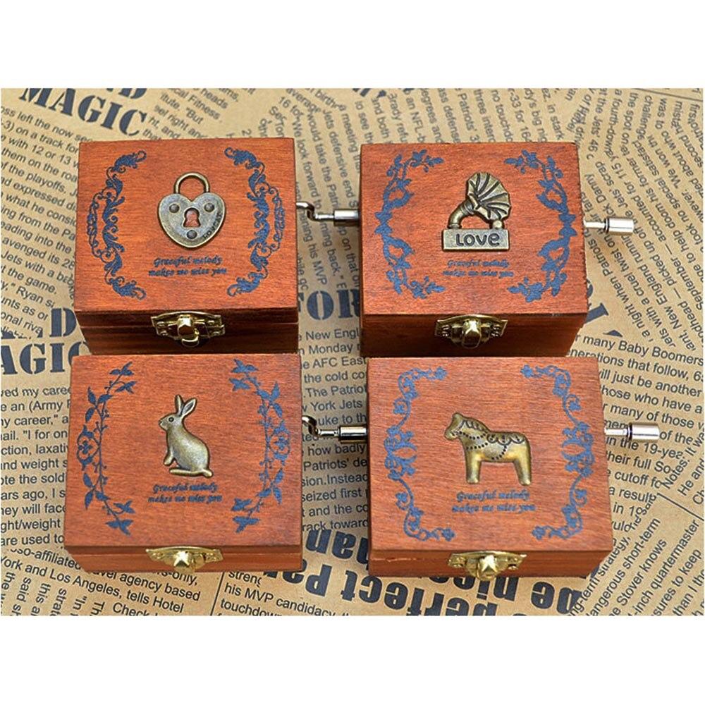 Online kopen Wholesale houten muziekdoos uit China houten ...