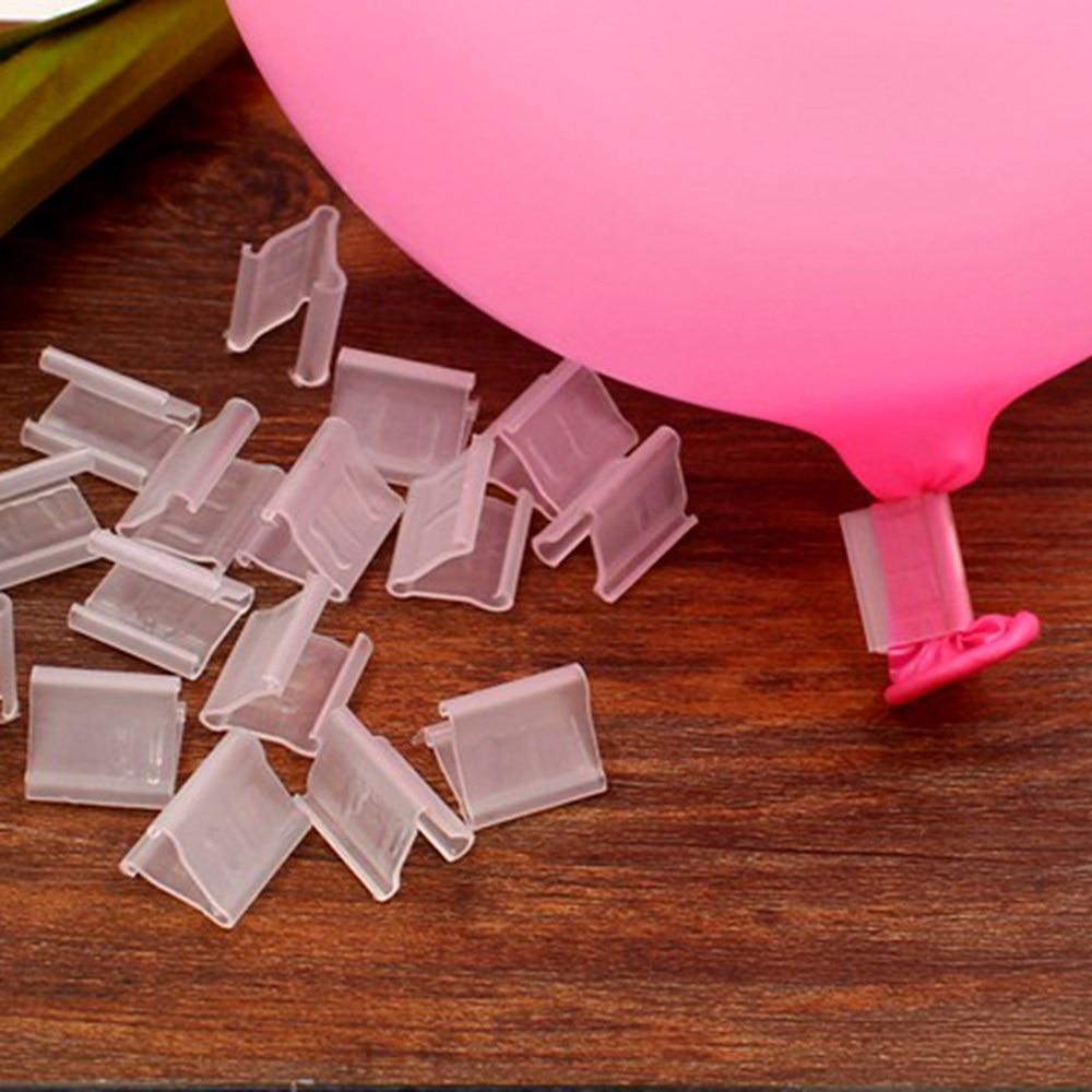 10pcs lot Balloons clip Foil latex balloon Clip air balls inflatable toys wedding party birthday decorantion
