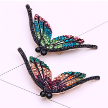 цена на rhinestone brooch pin jewelry cute insect pins and brooches for women broche mujer