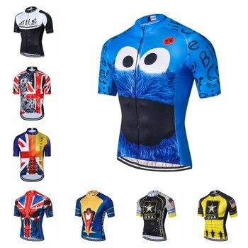 91ee3bf624a6 Weimostar USA Ciclismo Jersey hombre mtb Jerseys camino bicicleta Camisetas  manga corta Ropa Ciclismo maillot Racing tops Reino Unido azul