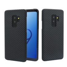 Real Kevlar Aramid Carbon Fiber Case for Samsung Galaxy S9, S9Plus, Note 9