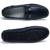 Zapatos de los hombres de moda Mocasines mocasines Zapatos de Cuero de Los Hombres Pisos Resbalón En Los Zapatos de Conducción de Cuero Genuino de Alta Calidad