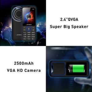 Image 3 - LEAGOO B23 Funktion Handy Senior Kinder Mini Telefon Russische Tastatur 2G GSM Push Taste Schlüssel Handy