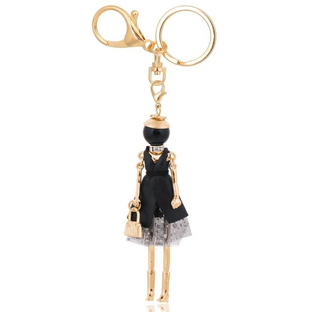 chenlege wholesale fashion bag keyrings charms ladies keychains 4