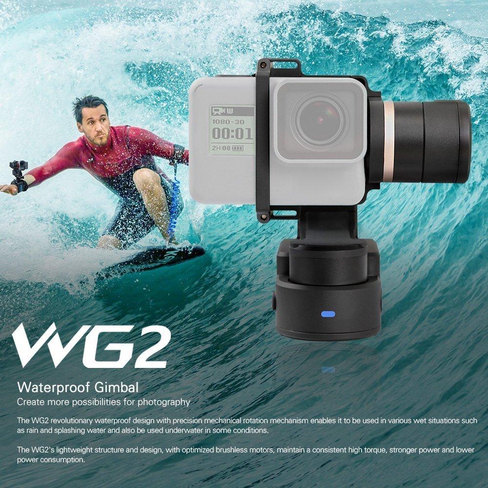 FeiyuTech Feiyu WG2 3-Axis Wearable Waterproof Handheld Gimbal Stabilizer for GoPro 6 4 5 Session YI 4K SJCAM AEE Action Camera feiyutech feiyu g6 handheld gimbal 3 axis action camera video stabilizer for estabilizador gopro hero 6 5 xiaomi yi 4k sport cam