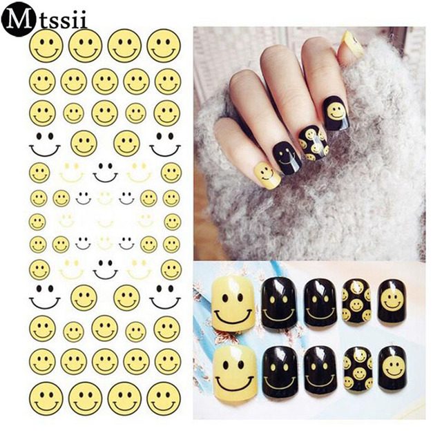 Mtssii 1 sheets smiles face yellow emoji diy stencils 3d nail mtssii 1 sheets smiles face yellow emoji diy stencils 3d nail sticker nail art decals manicure prinsesfo Image collections