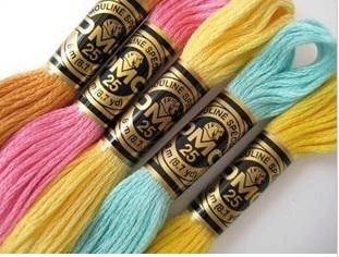 Оригинальный DMC нить вышивка крестом нить 8,7 ярдов длинные 6 нитей вышивка крестиком шпажки 2017 oneroom embroidery cross stitch thread cross stitchembroidery thread dmc   АлиЭкспресс