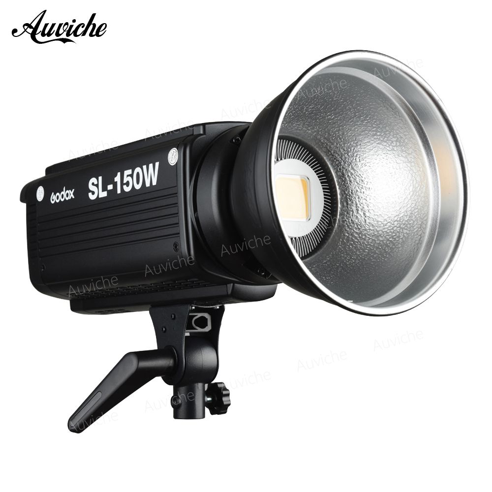 Godox SL-150W 5600K Studio LED Video Light Fill light Photo LED Light Bowens Mount White light Version for Studio Video