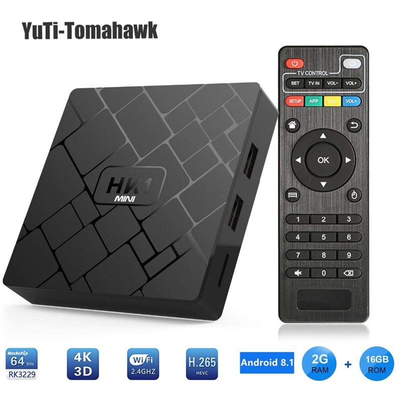 BM Android 9 0 Smart TV BOX RK3229 2G DDR3 16G EMMC ROM Set Top Box