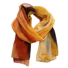Women Fashion Chinese Ink Style Wrap Lady Shawl Chiffon Scarf
