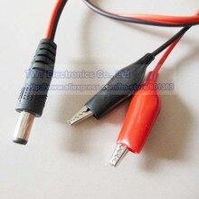 NCHTEK DC мощность 5,5x2,1 мм со штекерной розеткой, двойной тестовый зажим в форме аллигатора свинцовый адаптер CCTV кабель, 5,5/2,1, 25 шт