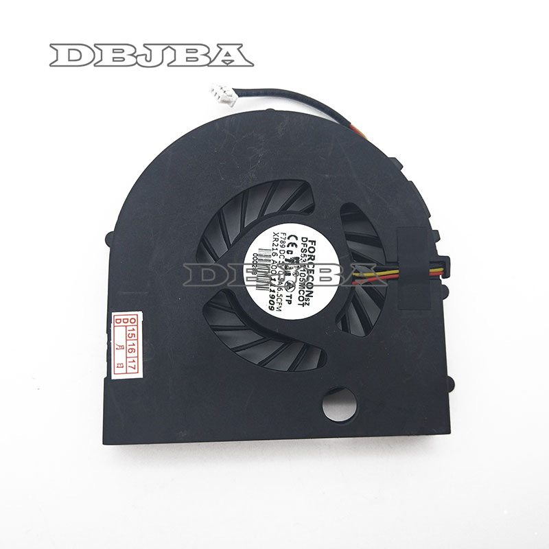 New Laptop CPU fan cooling fan for DELL XPS M1530 1530 PP28L GC055515VH-A CPU Cooler