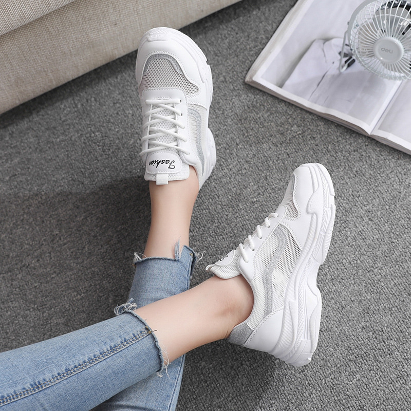2019 Spring And Summer New Breathable Sports Shoes For Men And Women Big Children Korean Version Of The Wild Children's Shoes