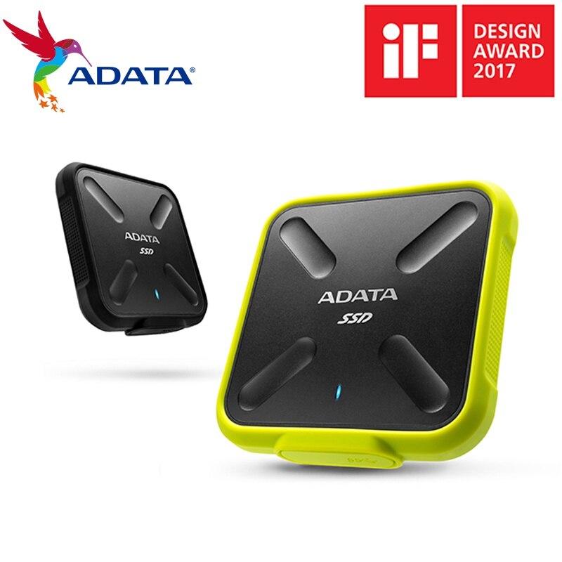 ADATA SD700 1TB 250G 512G SSD ภายนอกทนทานต่อน้ำ/Dust/Shock Proof External Solid State ไดรฟ์ USB 3.1 จัดส่งฟรี-ใน ไดรฟ์โซลิดสเตทภายนอก จาก คอมพิวเตอร์และออฟฟิศ บน AliExpress - 11.11_สิบเอ็ด สิบเอ็ดวันคนโสด 1